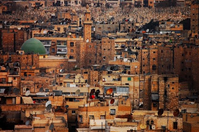 Adásszünet, Szíria, Aleppo